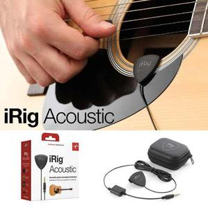 Irig Acoustic Mic Interface De Guitarra Iphone Ipad Android