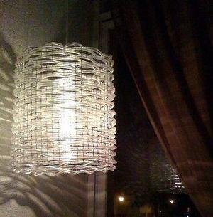Lámparas de vinil tejido, diseño original