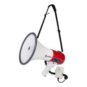 Megáfono De 25 Watts Con Micrófono Tipo Patruller   Mg-260