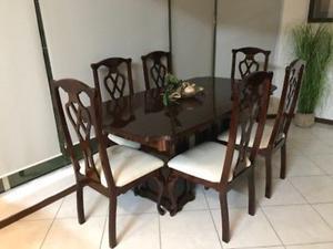 Mesa de Comedor de 6 sillas