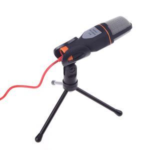 Microfono Condensador Plug Semiprofesional Con Mini Tripie
