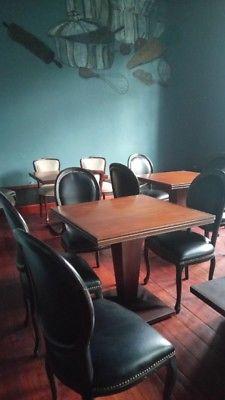 Mobiliario para restaurant o cafetería