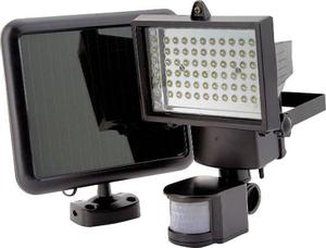 Reflector Solar 60 Led Lampara Panel Solar Sensor Movimiento