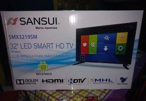 """SMART LED TV NUEVA DE 32"""" HD CON ANDROID EN OFERTA"""