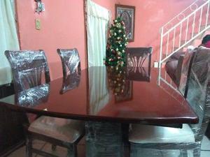 Se vende Comedor de 6 sillas