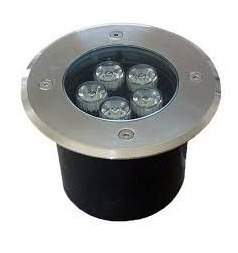 Spot Empotrable Para Piso Exterior Led 5w Lampara Ip65 Bc