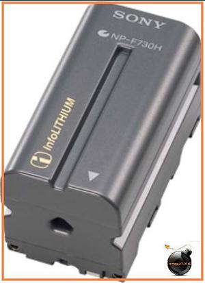 Bateria Recargable Np-f730h Videocamara Sony Dcr Dsr Hvr