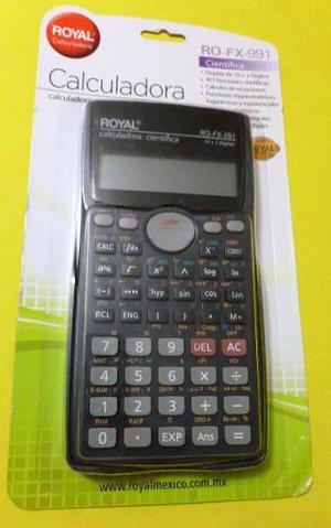 Calculadora Cientifica Royal Ro-fx-991