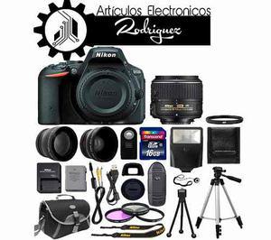 Camara Nikon D Mp - mm + Kit De Accesorios