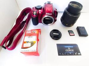 Camara Reflex Nikon D Lente mm Vr +3 Regalos