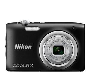 Cámara Digital Compacta A100 Nikon 20.1 Mpx Negro