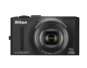 Cámara Nikon Coolpix S - Negro