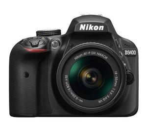 Cámara Nikon D + Accesorio Lente Af-p mm Vr Negra