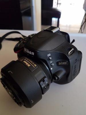 Cámara Nikon D Con 3 Lentes 35mm, mm Y mm