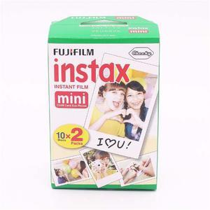 Fuji Película Instax Twin Pack 20 Placas Mini 8 Envio