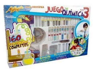 Kit Juego De Quimica # Tres Infantil Mi Alegría 10+ Dml