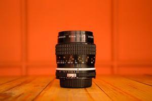 Lente Nikkor 55mm Micro Lente Para Nikon