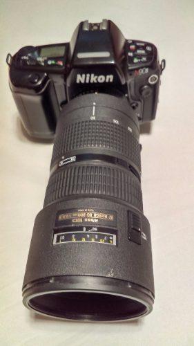 Lente Nikkor mm 1:2.8 D Con Camara Vintage Nikon N90s