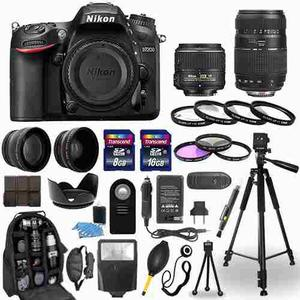 Nikon D Cámara Digital + mm + mm Kit 30