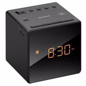 Radio Reloj Despertador Sony Icf-c1b Am/fm, 3 Modos Alarma