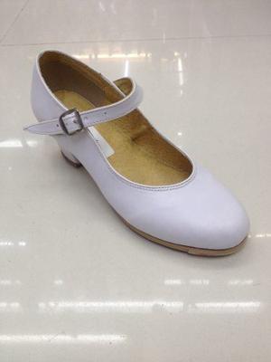 Zapato Danza Folklórica Blanco 15 Al 27 Envio Gratis