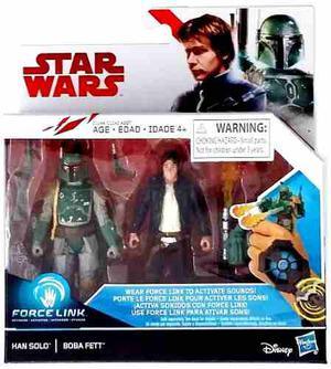 Han Solo Vs Boba Fett Star Wars 2-packs The Last Jedi 3.75