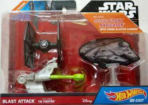 Hot Wheels Star Wars Blast Attack First Order Tie Fighter