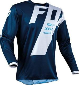 Jersey Fox 180 Mastar Azul Talla Xl Motocross Mtb Downhill