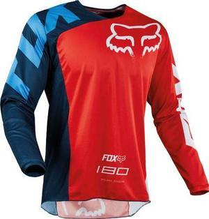Jersey Fox 180 Race Rojo Talla L Motocross Mtb Downhill