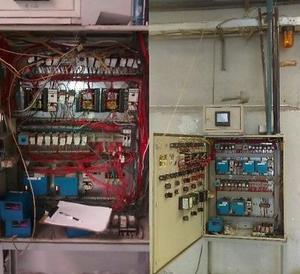 Mtto electromecanico inyectoras de plastico, tableros de