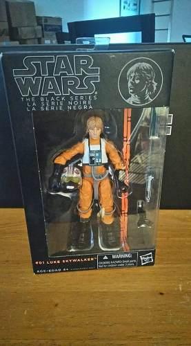 Star Wars Black Series 6 Luke Skywalker X Wing Pilot