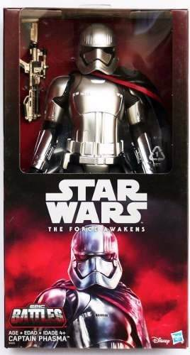 Star Wars Capitan Phasma 30 Cms 12 Plg Nueva Hasbro Epic