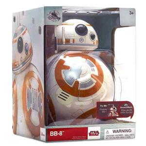 Star Wars The Last Jedi Bb-8 Figura Con Sonidos Disney Store