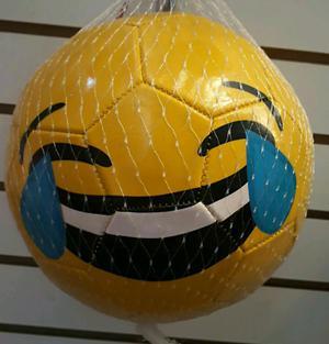 Balones de futbol Minecraft y Emojis