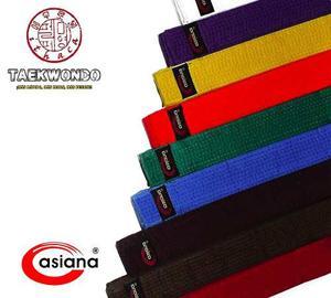 Cintas Asiana - Cintas De Color Para Taekwondo