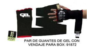 Guantes De Gel Con Vendaje Para Box