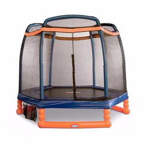 Little Tikes Trampolin De 7 Pies Con Red De Seguridad.