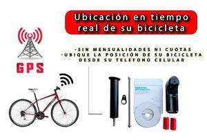 Localizador Rastreador Tracker Ideal Para Bicicleta Alarma