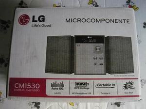 Microcomponente Lg Cm Funcionando Con Detalle