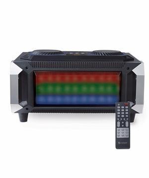 Mini Componente Ksr w Con Bluetooth Panel Audioritmico