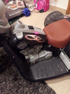 Moto eléctrica harley davidson con reversa