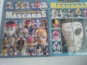 Revistas enciclopedia de mascaras