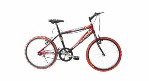 Bicicleta Infantil Bravia Rodada 20 Montaña Para Niño