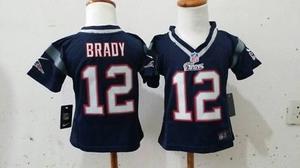 Jersey New England Patriots Patriotas Nueva Inglaterra niño