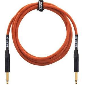 Orange Professional Cable - 20 Orange Straight