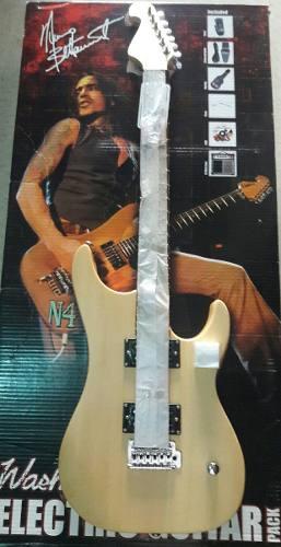 Paquete Guitarra Electrica Washburn Amplificador Y Funda