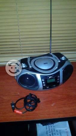 Radio grabadora con entrada USB