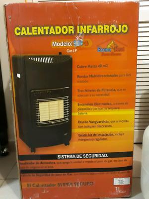 calefactor de gas butano