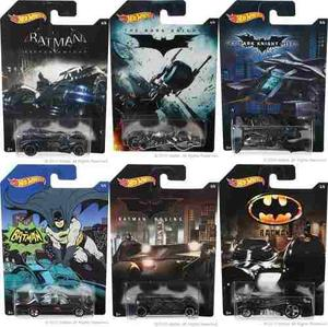 Batman Batimovil Batmobile Serie  Hot Wheels 1 Pieza