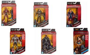 Dc Liga Justicia Multiverse Batman Flash Superman Cybogr Ww